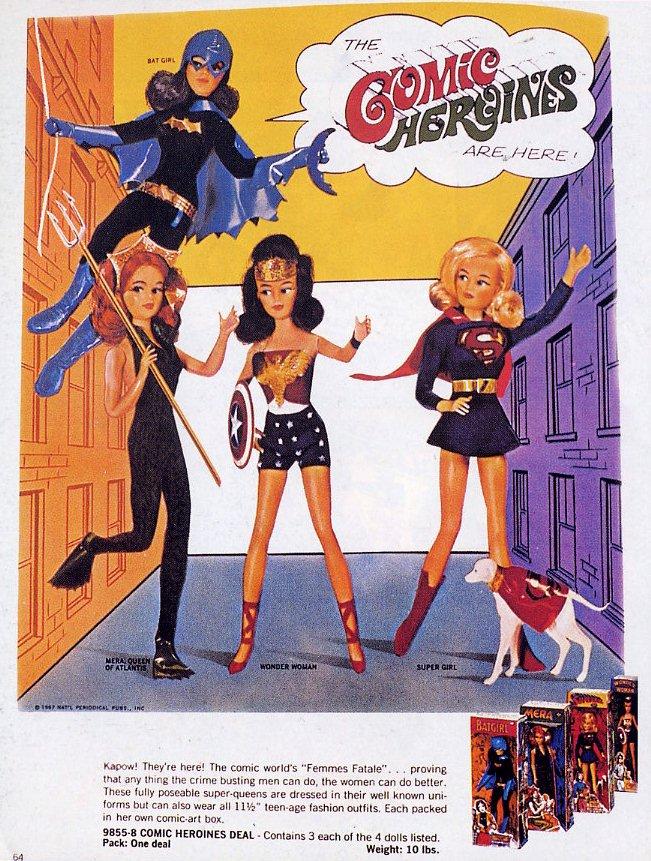 Comic Heroines - Ideal HEROIN1